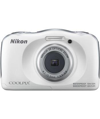 Cã¡mara de fotos Nikon coolpix w100 sumergible white 13mp 4x w100wh