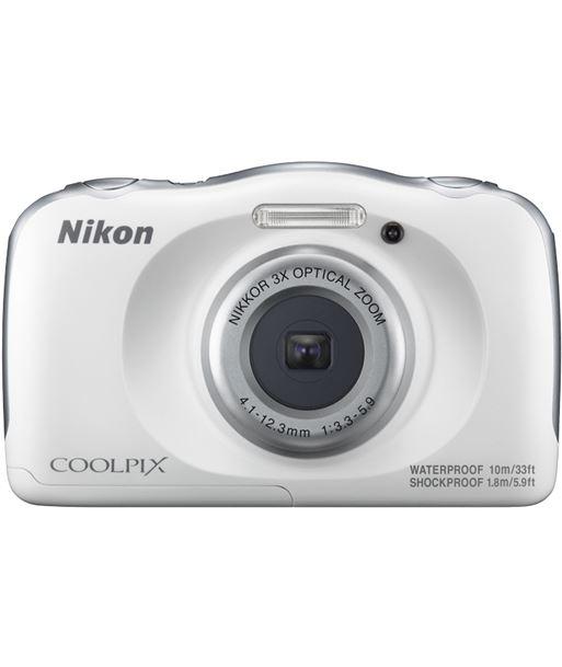 Cã¡mara de fotos Nikon coolpix w100 sumergible white 13mp 4x NIKW100WH - W100WH