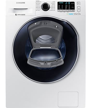 Lavasecadora Samsung wd80k5410owec. 8kg+6kg, a