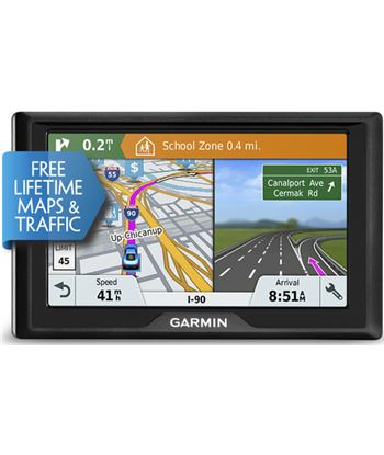 """Navegador gps Garmin drive 61 se lmt-s 6"""" sur europa 15 010_01679_2g"""