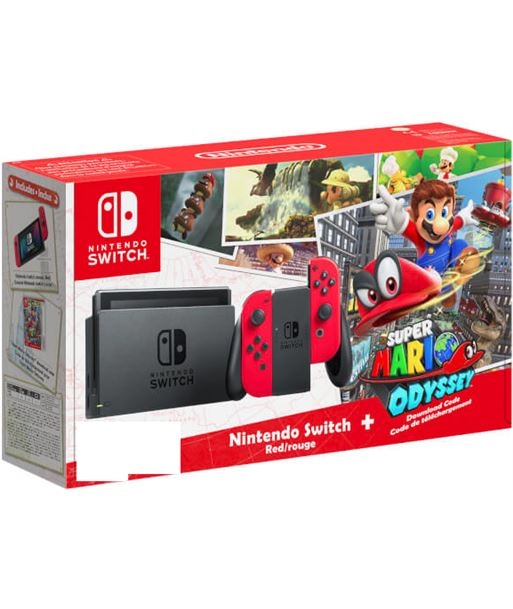 Consola Nintendo switch + super mario odyssey para descarga 6452391 - 2500366