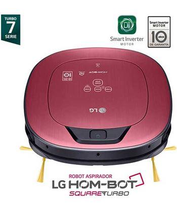 Robot aspirador Lg VR6600PG hombot rojo