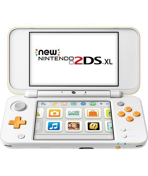 Nintendo consola new 2ds xl blanco/naranja nin2209366 - NIN2209366