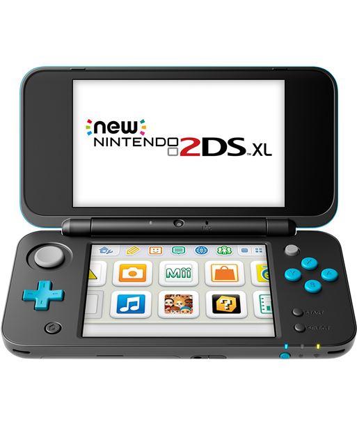 Nintendo consola new 2ds xl negro/turquesa nin2209266 - NIN2209266