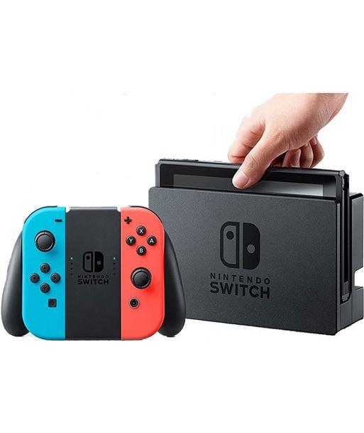 Consola Nintendo switch hw azul neã?n/rojo neã?n NIN2500166 - 2500166