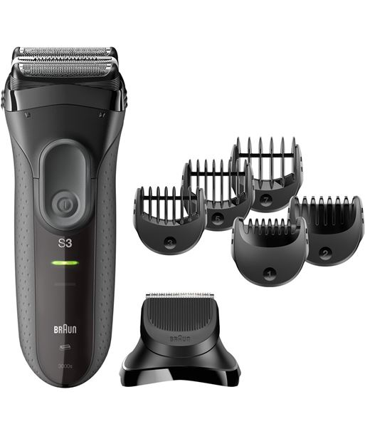 Máquina de afeitar  afeitar Braun 3000BT serie 3 proskin . - 3000BTSERIE3