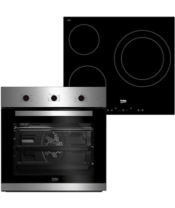 Conjuntos horno y placa Beko ose22120x BSE22120X