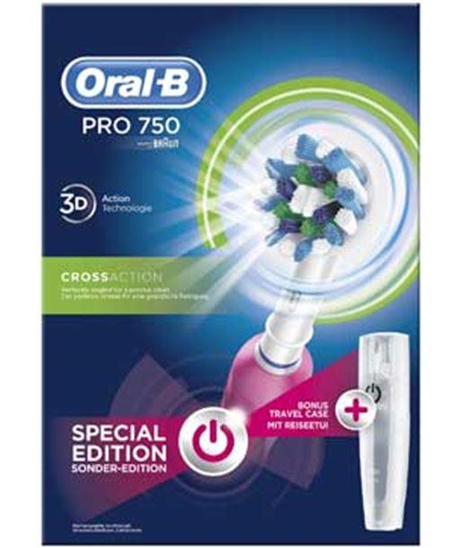 Bra cepillo dental pro750 cross action pink pro750crosspin - PRO750PINK