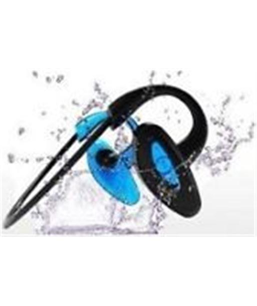 Auricular Innova nataciã³n bluetooth mp3 4gb negro y azul AURSWIM1 - AURSWIM1