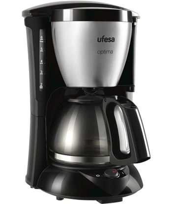 Cafet. goteo negra+inox Ufesa cg7214 600w (10-15t) UFECG7214