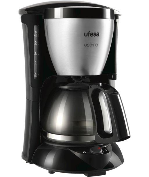 Cafet. goteo negra+inox Ufesa cg7214 600w (10-15t) - UFECG7214
