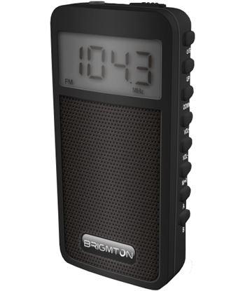 Radio am/fm digital Brigmton altavoz memoria negro BRIBT_126_N