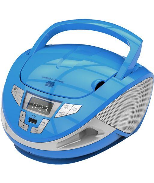 Radio cd mp3 usb Brigmton 440 azul BRIW_440_A - 8425081016771