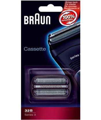 Lamina+cuchilla Braun apta afeitadoras nueva serie BRAPACK32B . - PACK32B