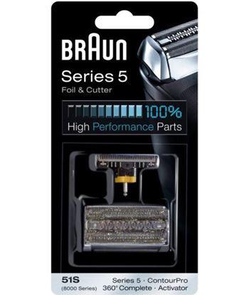 Lamina+cuchilla COMBIPACK51S Braun apta afeitadora . - PACK51S