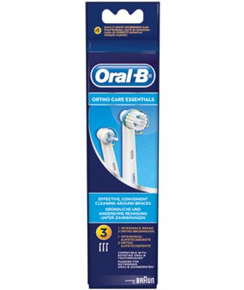 Recambio cepillo dental Braun ortho kit ORTHOKIT . - BRAORTHOKIT