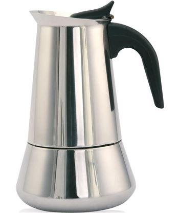 Cafetera inox Orbegozo KFI460, 4 tazas, induccion