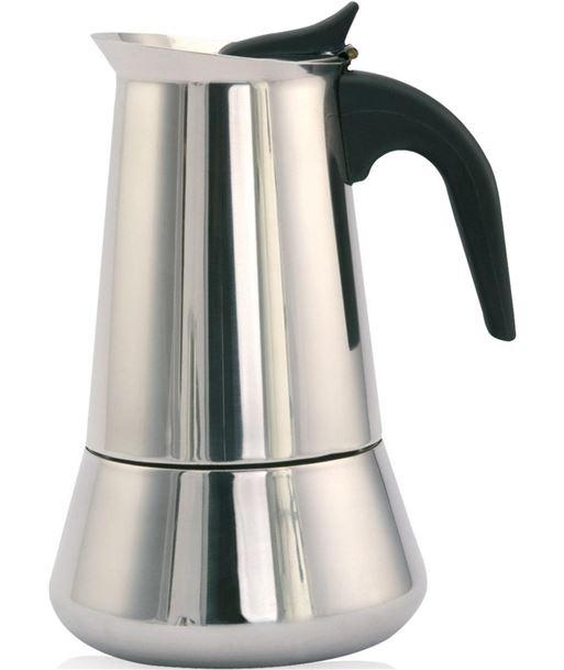 Cafetera inox Orbegozo KFI460, 4 tazas, induccion - 8436044534188