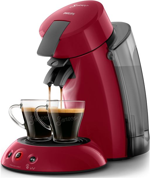 Philips-pae cafet. monod. senseo xl rojo philips hd6555_82 - PHIHD6555_82