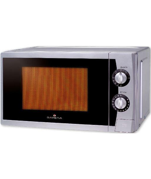 Microondas con grill Sareba mi-srb2021sgm plata SARMISRB2021SGM - MI-SRB2021SGM