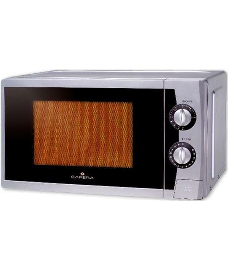 Microondas con grill Sareba mi-srb2021sgm plata sarmisrb2021sgm