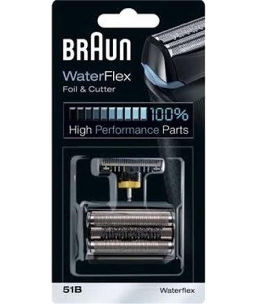 Recambios afeitadora Braun casette 51 b (waterfle CASETTE51B - 03160919