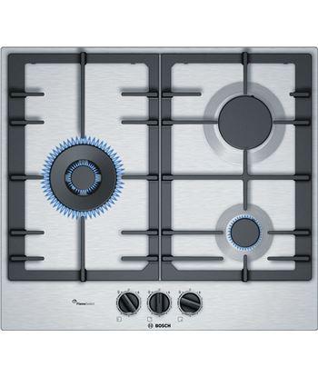 Bosch PCC6A5B90 placa gas natural 3quem. 60cm inox - PCC6A5B90