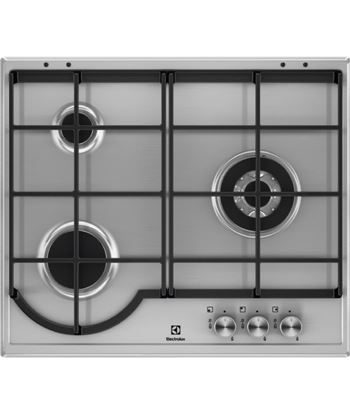 Encimera independiente  Electrolux EGH6333BOX, 3 fuegos