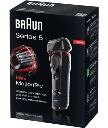 Mã¡quina de afietar Braun 5030 serie 5 CT2COOLTEC