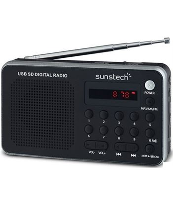 Sunstech radio portatil digital rpds32sl, plata