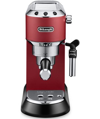 Cafetera Delonghi EC685R, compacta, metalica, cafe