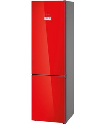 Bosch combi no frost bosino frost kgf39sr45 203x60 crist. rojo