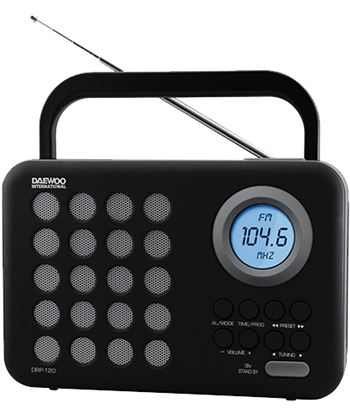 Radio digital usb Daewoo drp-120g gris DAEDBF139 Radio - DAEDBF139