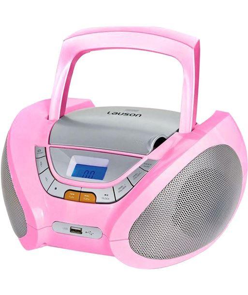 Radio cd Lauson CP448, rosa - CP448