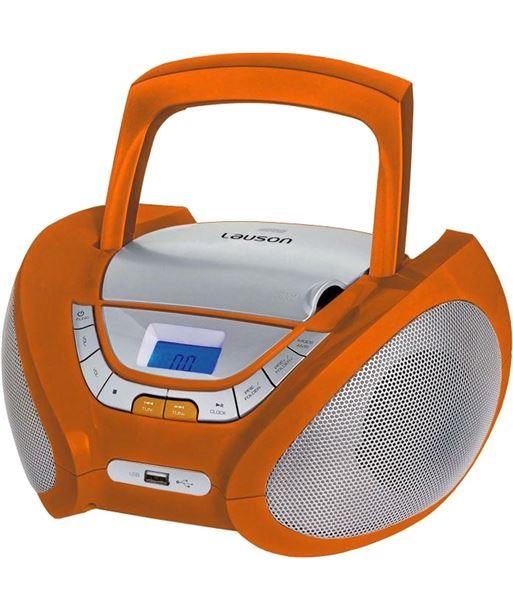 Radio cd Lauson CP447, naranja - CP447
