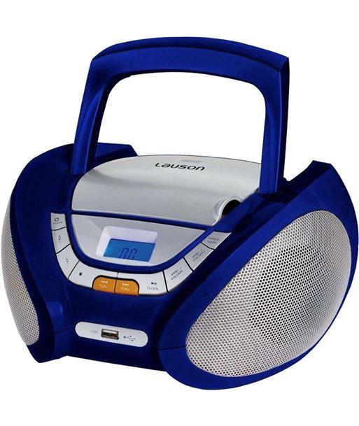 Radio cd Lauson CP446, azul - CP446