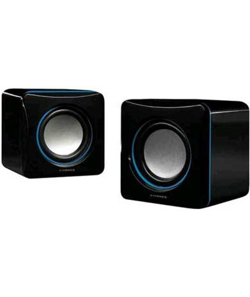 Altavoz ordenador Vivanco stereo compacto negro/az 31925 - 4008928319255