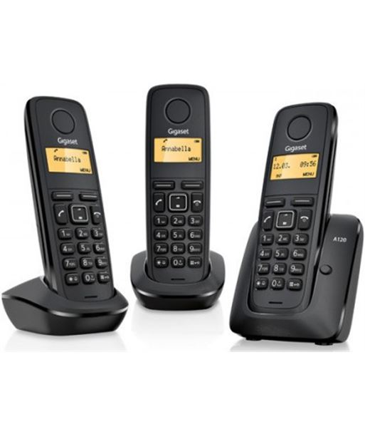 Nuevoelectro.com telefono inalambrico gigaset trio a120trio a120 + - A120TRIO