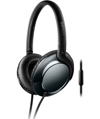 Auricular diadema Philips SHL4805DC/00 negro 32mm