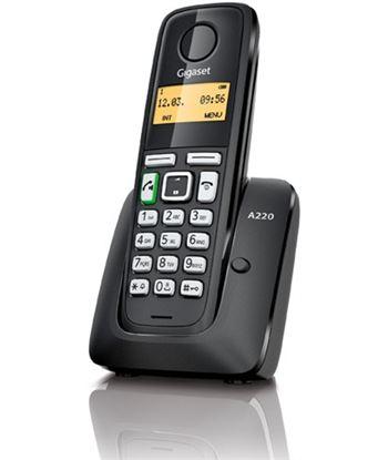 Siemens telefono inalambrico gigaset a220, negro Telefonía doméstica