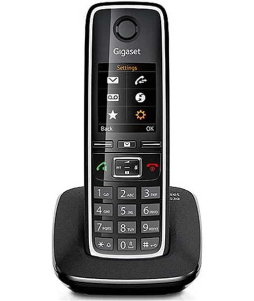 Nuevoelectro.com telefono inalambrico gigaset c530, negro - C530