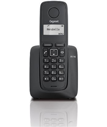 Siemens A116 telefono inalambrico gigaset , negro Telefonía doméstica - 08163420