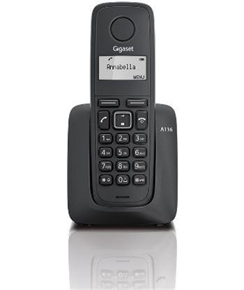 Siemens telefono inalambrico gigaset a116, negro Telefonía doméstica - 08163420