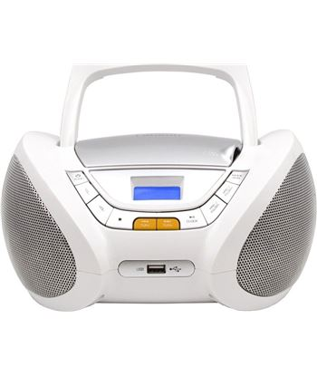 Radio cd Lauson CP443, blanco