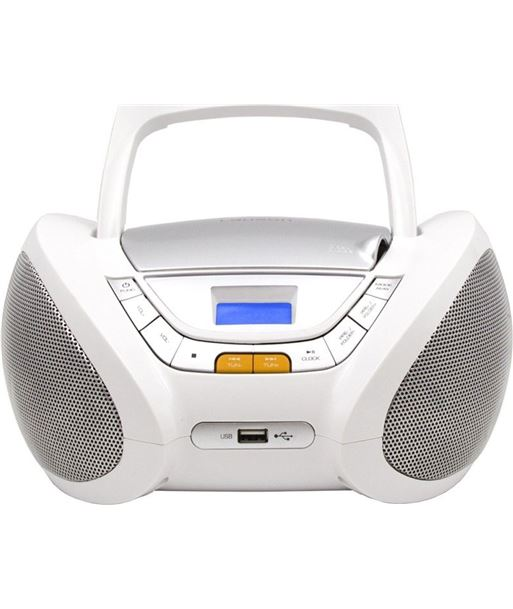 Radio cd Lauson CP443, blanco - CP443