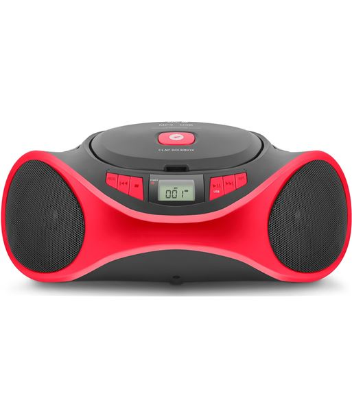 Radio cd Spc clap boombox 4501R rojo - 4501R