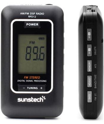 Radio portatil digital Sunstech RPD12 negro