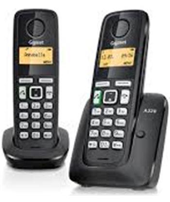Nuevoelectro.com telefono inalambrico duo gigaset a220duo, negro