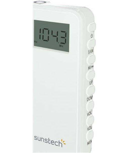 Radio portatil Sunstech RPD23WT, blanca - RPD23WT