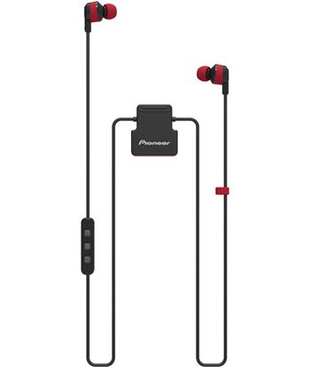Pioneer auricular bluetooth pionner secl5btr, rojo/negro